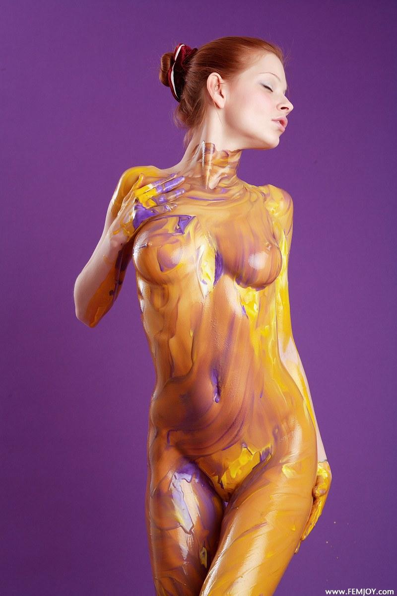 Junior Girl Nude Body Paint